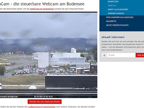 Interaktive Webcam