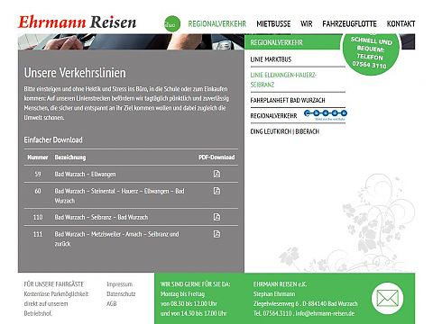 Verkehrslinien mit PDF Download
